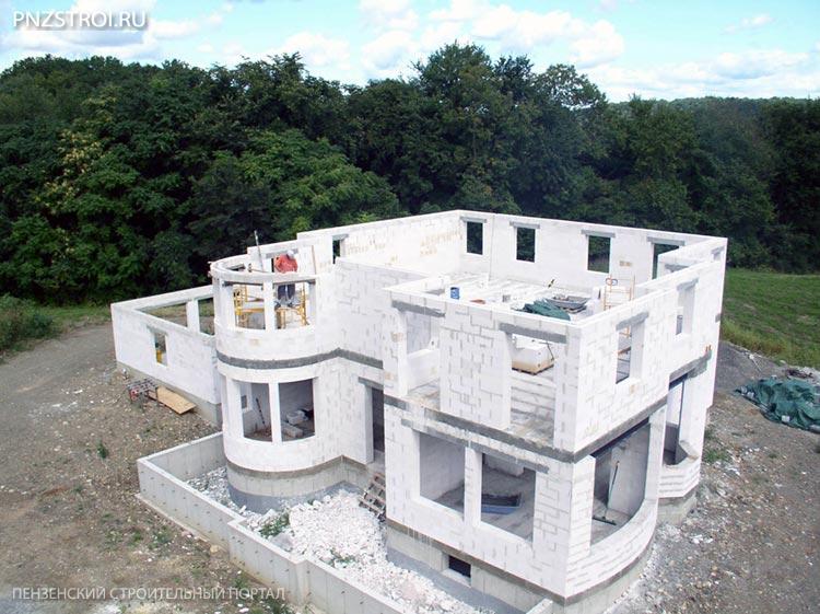 Как построить дом из пеноблоков быстро и недорого