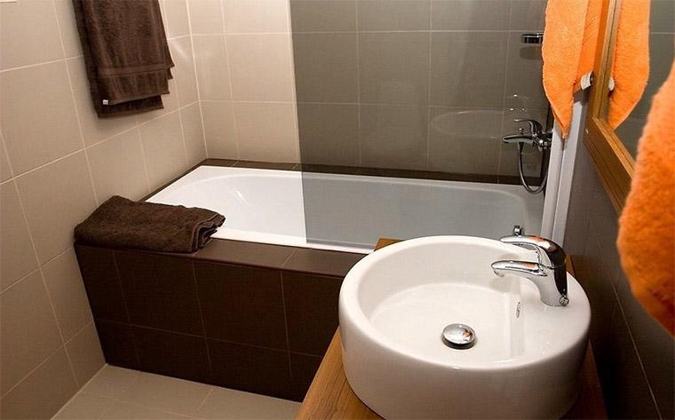 Дизайны ванных комнат в 3 кв м